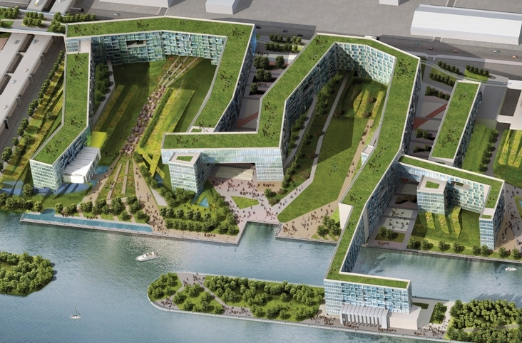 Tokyo olympic village wdg architecture planning interiors for Lloyds architecture planning interiors